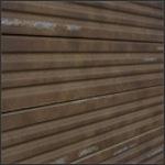 Corrugated Metal Slatwall Panel