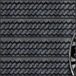 Tire Tread Slatwall Panel