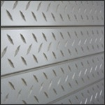 Diamond Plate Slatwall Panel