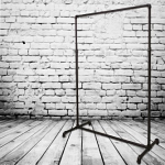 Industrial Pipeline Ballet Bar Rack