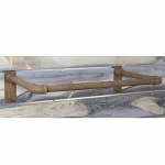 Slatwall Pipe Hangrail