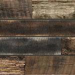 Mixed Reclaimed Natural Wood Slatwall Panel