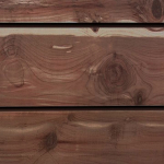 Red Cedar Natural Wood Slatwall Panel
