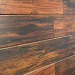 Rosewood Natural Wood Slatwall Panel