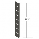 "46"" Metal Slat Strips"