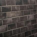Gray Brick Slatwall Panel