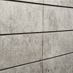 Sunbaked Architectural Concrete Slatwall