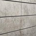 Sunbaked Architectural Concrete Slatwall