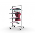 Vertik - Stand Clothing and Shelving Kit, 24""