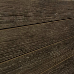 Warm Weathered Wood Slatwall Panel