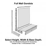 Full Madix Wall Gondolas