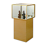 Tecno Square Pedestal Showcase