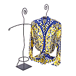 Scroll Top Blouse Displayer
