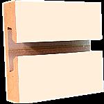 LPL Almond Slatwall Panel