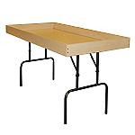 Folding Maple Dump Table
