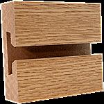 LPL Oak Slatwall Panel