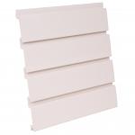 PVC Antique White Slatwall Panel
