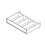 Modular Small Merchandising Bin