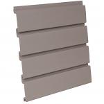 PVC Taupe Slatwall Panel