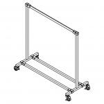Modular Ballet Bar Rack