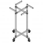 Modular 4-Way Faceout Rack