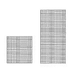 4' x 4' Gridwall Panels