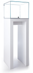 Tecno Open Square Pedestal Showcase