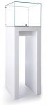 Tecno Open Square Pedestal Showcase