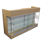 Ledgetop Counter With Showcase Front