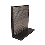 Steel Slatwall L-Shape Display