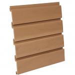 PVC Oak Slatwall Panel