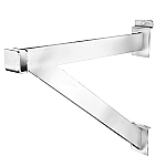 "12"" Heavy Duty Slatwall Hargbar Bracket"