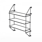 Wall Cable Kit for 3 Glass Shelves