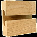 LPL Maple Slatwall Panel