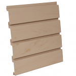 PVC Maple Slatwall Panel