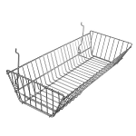 Large Double Sloping Wire Basket