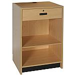 Standard Flat Top Register Stand