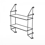 Wall Cable Kit for 2 Glass Shelves