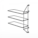Wall Cable Extension Kit for 3 Glass Shelves
