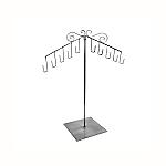 Raw Steel Single Slant Purse Display