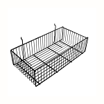 Wire Slatwall Basket