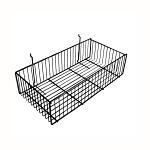 Wire Slatwall Basket