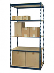 Jaken 100A Standard Duty Low Profile Particle Board Shelving
