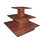 Three Tier Square Table