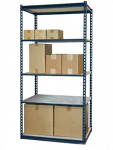 Jaken 100A Standard Duty Low Profile Laminated Board Shelving