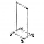 Modular 2-Way Display Rack