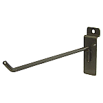 Heavy Duty Raw Steel Slatwall Hooks