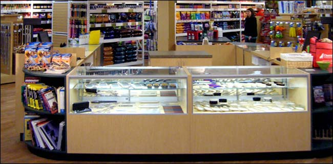 Custom Glass Showcase Counters Expert Design Assistance