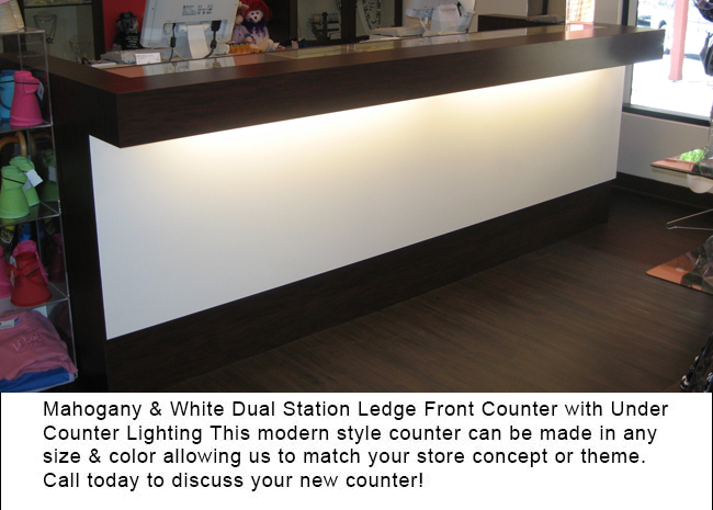 Custom Multi Station Retail Counters Expert Design Help