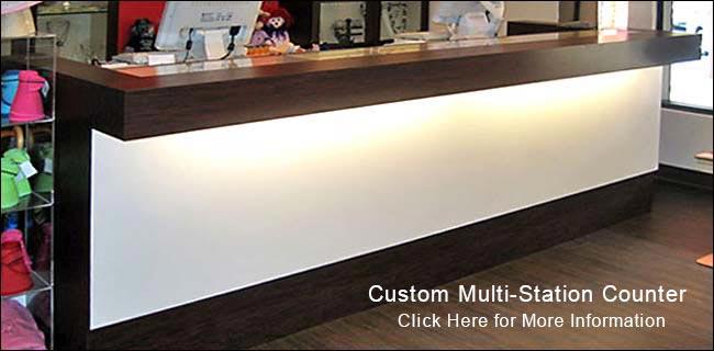 custom retail counters showcases expert design